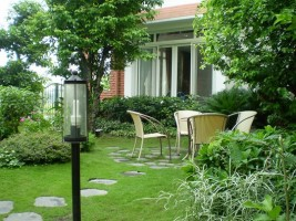 Thi công sân vườn Biệt thự  KĐT Ecopark
