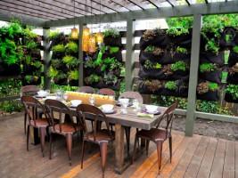 10 mẫu tiểu cảnh sân vườn đẹp dành cho nhà hàng