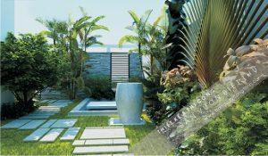 Thiết kế sân vườn ngoại thất theo phong cách hiện đại