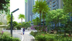 Những cây bóng mát thường được trồng xung quanh cảnh quan tòa nhà