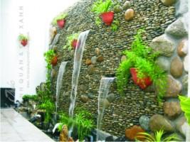 Sử dụng đá trang trí cho sân vườn hợp phong thủy