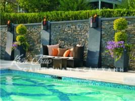 Dự án bể bơi kết hợp tiểu cảnh vườn chú Hoàng – Ciputra