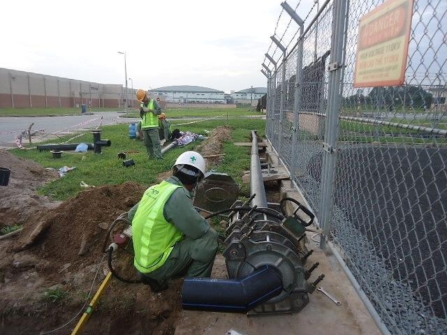 Lắp đặt hoàn thiện các hệ thống nước điện để thi công cây