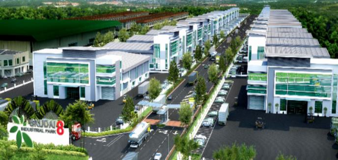 Dự án thiết kế thi công cây công trình khu công nghiệp