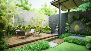 Lưu ý bạn cần biết khi thiết kế sân vườn biệt thự