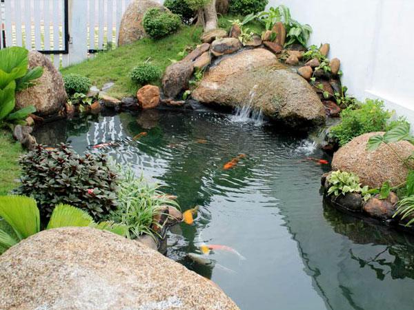 Phong cách sân vườn phong thủy