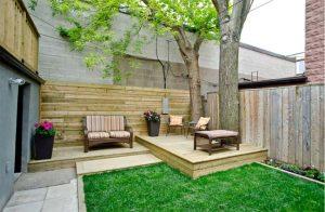 Tạo một không gian sân vườn đơn giản