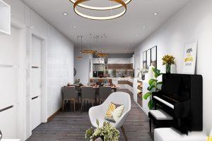 Lựa chọn màu sắc trong thiết kế và xây dựng nhà