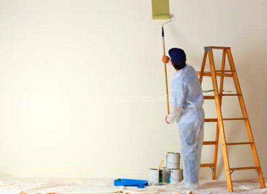 thi công sơn chống cháy