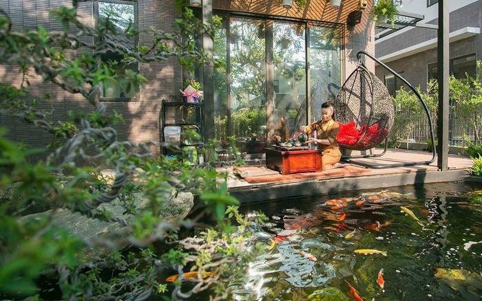Tiểu cảnh hồ cá koi Chị Hòa - Ciputra tây hồ